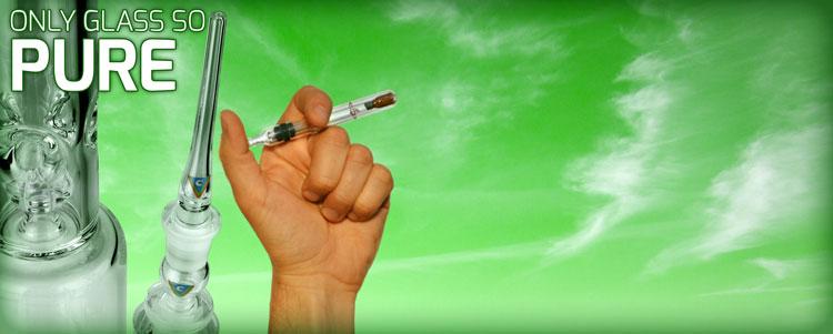 Vaponic der kleine Hand Vaporizer aus Glas