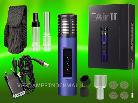 Arizer Air 2 Mystic Blue delivery scope