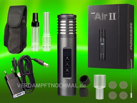 Arizer Air 2 black delivery scope