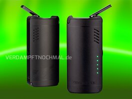 XVAPE Fog, front- and backside, turned on