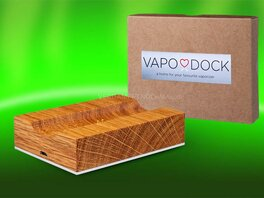Vapo Dock, charging station and packaging
