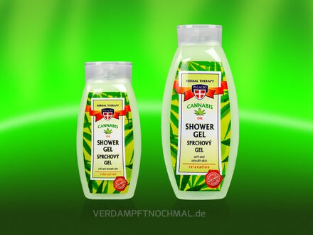 Palacio shower gel with hemp oil