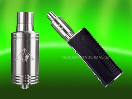 Divine Crossing V4 atomizer on box mod