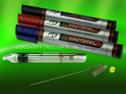 Vaponic delivery scope, different pencase colors