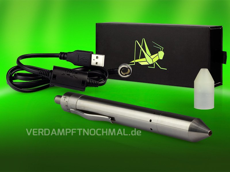 Grasshopper Vaporizer - Compact and powerful