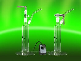 Herborizer Ti, Bubbler with Vaporizer Kit and Bubbler...