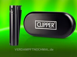 Clipper Metal Jet Flame with Giftbox