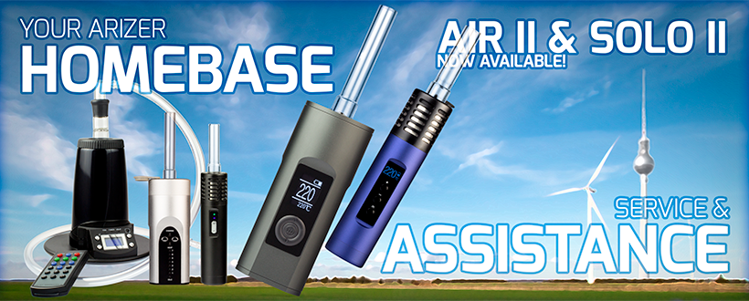 Arizer Solo 2, Air and Extreme-Q Vaporizer