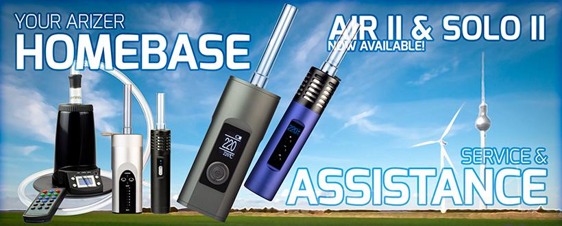 Arizer Solo 2, Air und Extreme Q Vaporizer
