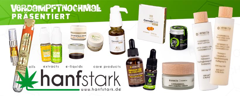 CBD Online Shop - Hanfstark.de